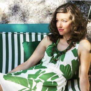Preloved Weston tropical 🌴 print summer dress